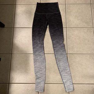 Lululemon wee stripe ombré leggings